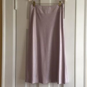 NWT Sigrid Olson LUXURIOUS faux suede Aline skirt